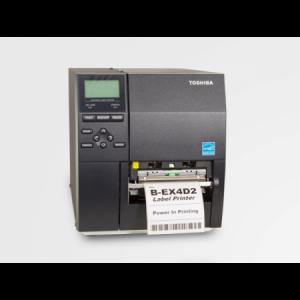 "Impresora Industrial B-EX4D2-GS12 4"" 200 dpi cab. PLANO"