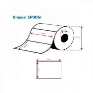 ROLLO Etiquetas Inkjet Mate PE 76mmx 51mm ( 535 Etiq.)