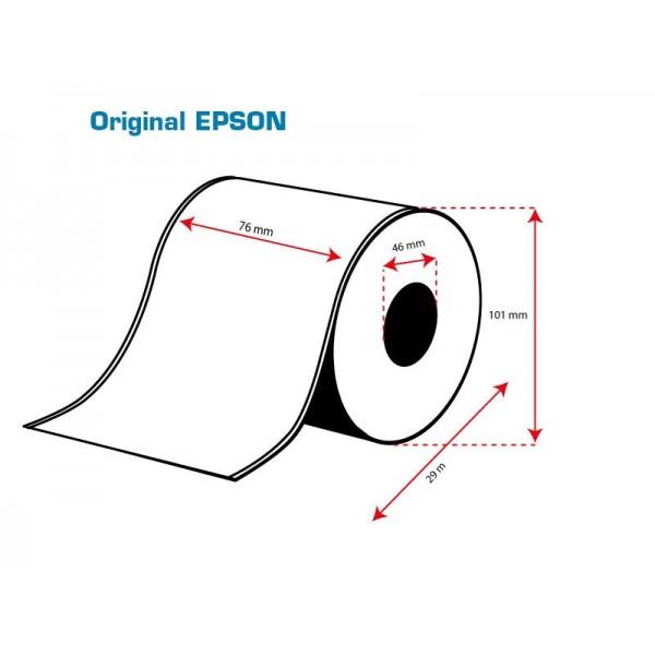 ROLLO Etiquetas Inkjet Mate PE Continuo 76mmx 29m ( 29 m.)