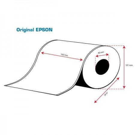 ROLLO Etiquetas Inkjet Mate PE Continuo 102mmx 29m ( 29 m.)