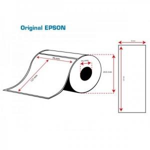 ROLLO Etiquetas Inkjet Mate Premium 76mmx127mm ( 960 Etiq.)