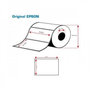 ROLLO Etiquetas Inkjet Mate PE 76mmx 51mm (2310 Etiq.)