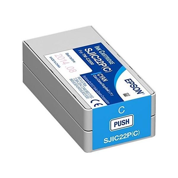 Cartucho de Tinta TM-C3500 Cian (SJIC22P)