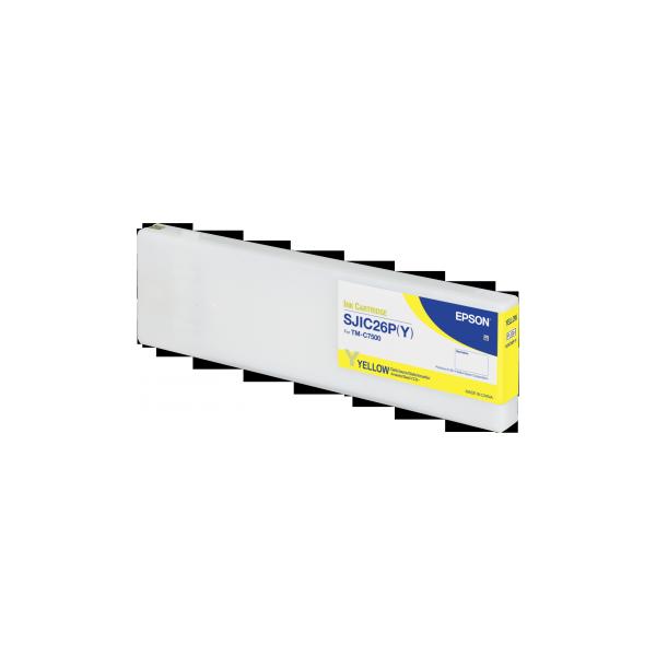 Cartucho de Tinta C7500 Amarillo (SJIC26P)