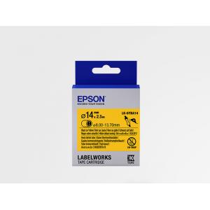 Cartucho de Etiquetas Epson (HST) LK-6YBA14 para Tubo Termorretráctil Negro/Amarillo 14mm (2.5 m)