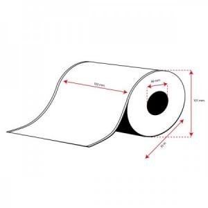 Rollo Etiquetas Inkjet Mate Continuo 102mmx 35m ( 35 m.)